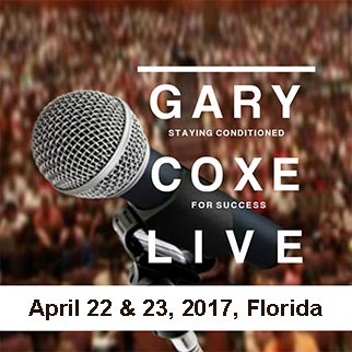 Staying Conditioned For Success- April 2017 Gary Coxe