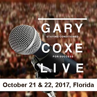 Staying Conditioned For Success October 2017 with Gary Coxe