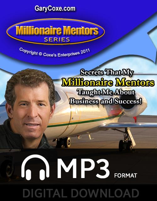Millionaire Mentors Series 20 CD Program – Digital