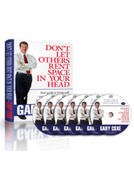 Don't Let Other's Rent Space in Your Head Book on CD