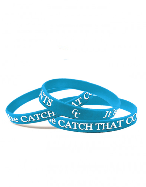 You Can't Fillet A Nibble…It's The Catch That Counts.  GC Wristbands