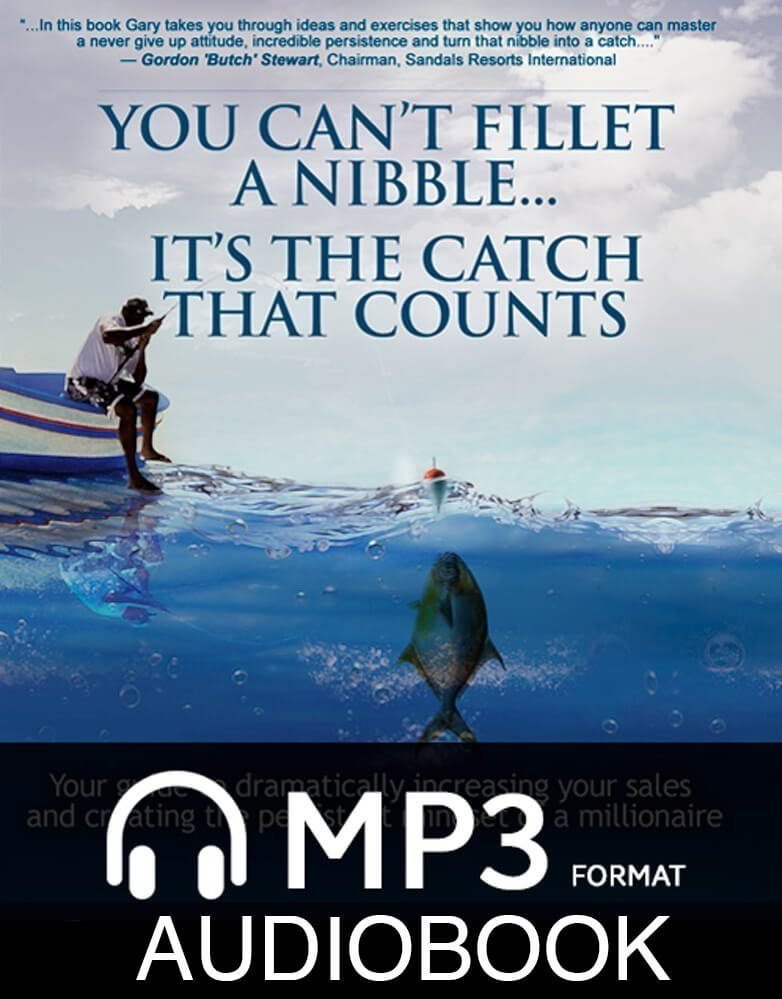 You Can't Fillet a Nibble…It's the Catch that Counts! Audiobook