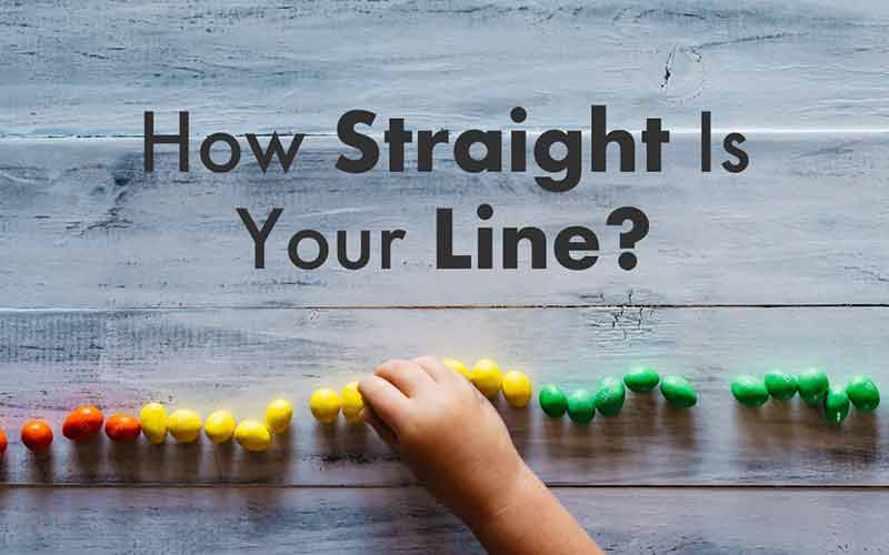 How Straight Is Your Line?