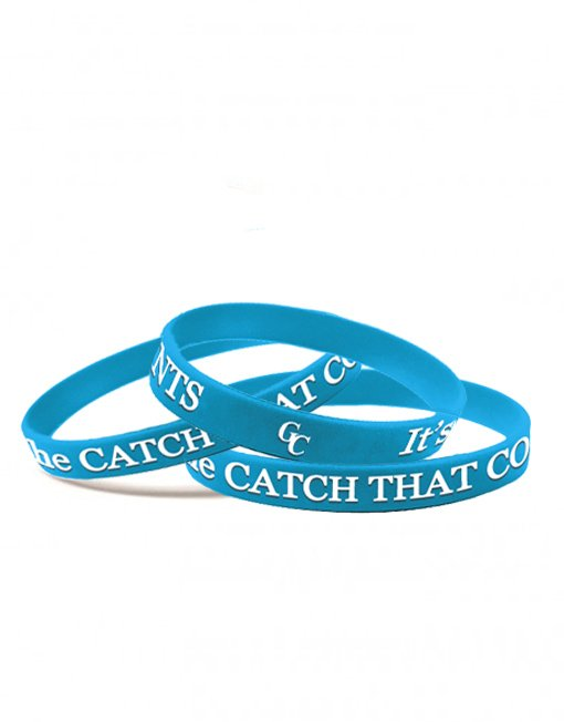 You Can't Fillet a Nibble...It's the Catch that Counts. GC Wristbands
