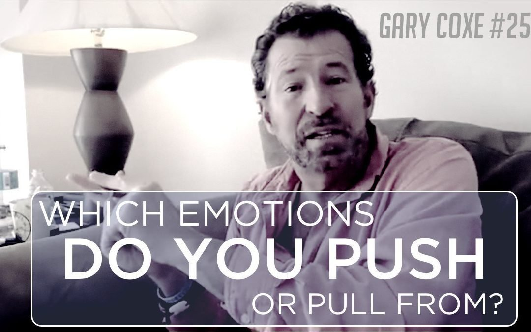 Which Emotions Do You Push Or Pull From?