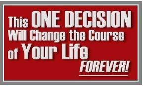 One Decision…