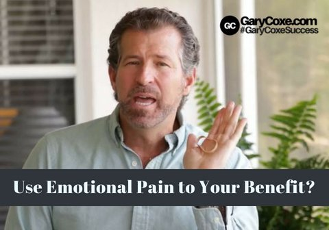 Use Your Emotional Pain To Your Benefit?