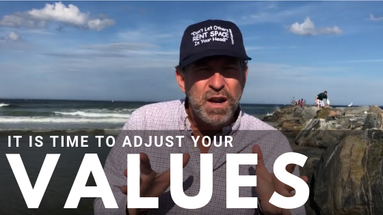 It is Time to Adjust your Values…I'm Having To. Here's How.